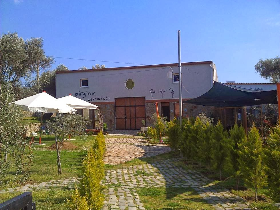 Bild der Fabrik und Olivenölmühle Pirgion in der Türkei